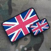 Gun Point Gear Union Jack PVC Patch Double Pack